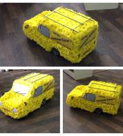 3D Only fools and horses van by Heavenly Scent Florist in Darlington delivered to home and work in Darlington and surrounding areas by Florist on 33 bondgate Darlington