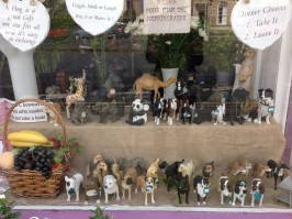 selection of animals and dogs collectable ornaments gift wrapped local delivery