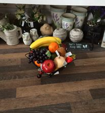Artificial fruit, fruit baskets  darlington heavenly scent florist local delivery and surrounding areas