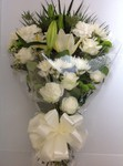 spray floral funeral tribute delivery darlington  free local delivery