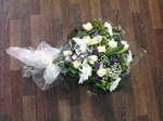 cream local and free delivery funeral flower tribute  cheap colourful traditional darlington and surrounding areas  hand made artificial funeral  florist darlington