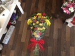 Flat spray floral funeral tribute delivery free local delivery darlington funeral flowers floral tribute