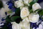 White a wedding flowers free local and surrounding areas delivery 33 bondgate darlington  cadburys purple bridal flowers