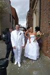 simple Calla lilly over the arm bouquet wedding flowers free local and surrounding areas delivery 33 bondgate darlington