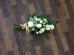 cream and green  sheaf local and free delivery funeral flower tribute  cheap colourful traditional darlington and surrounding areas  hand made artificial funeral  florist darlington
