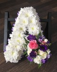 letters frame carnations fresh flowers  fresh or artificial  floral teddy bear funeral tribute made lovingly by hand in our little shop with fresh flowers in 33 bondgate darlington local free deliver