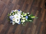 Single ended and double ended sprays  carnations fresh flowers  fresh or artificial  floral teddy bear funeral tribute made lovingly by hand in our little shop with fresh flowers in 33 bondgate darlington local free delive