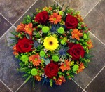 mixed posy  floral funeral tribute heavenly scent florist darlington fresh  funeral flowers local and surrounding areas