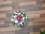 mixed posy with lilly  floral funeral tribute heavenly scent florist darlingto fresh  funeral flowers local and surrounding areas n